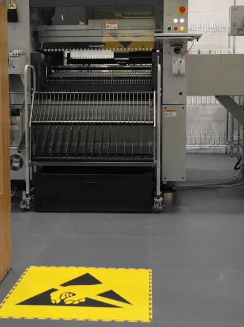 HBS chooses leading ESD flooring for its new facility
